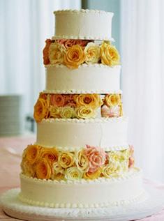 Свадебный торт 006
