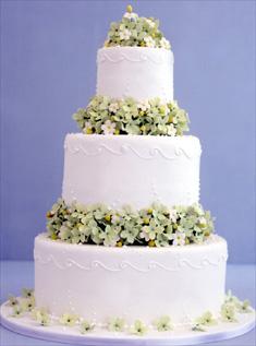 Свадебный торт 011
