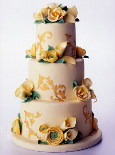 Свадебный торт 013