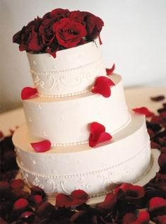Свадебный торт 018