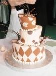Свадебный торт 019