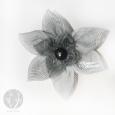 Цветы из ткани 14