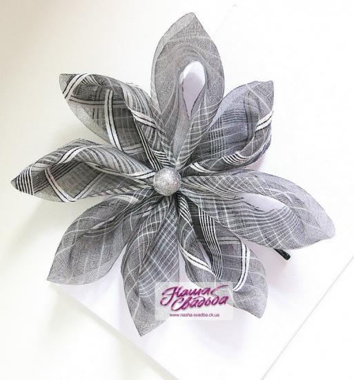 Цветы из ткани 04