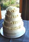 Свадебный торт 025