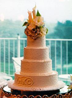 Свадебный торт 034