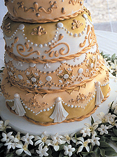 Свадебный торт 035