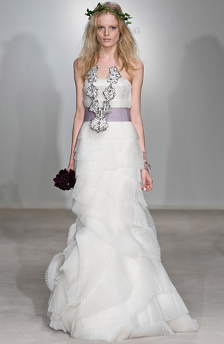 Свадебное платье Vera Wang 87