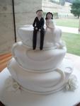 Свадебный торт 045