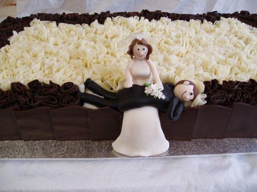 Свадебный торт 048