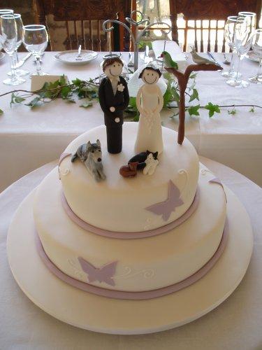 Свадебный торт 054