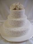 Свадебный торт 055