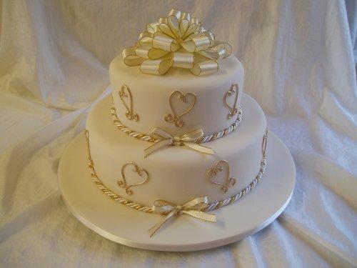 Свадебный торт 059