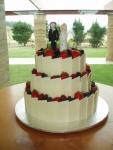 Свадебный торт 074