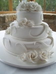 Свадебный торт 075