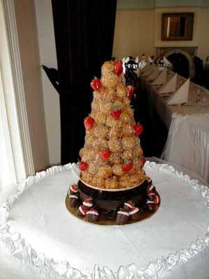 Свадебный торт 076